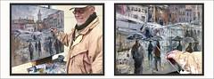 VIC-PINTURA-MERCAT DEL RAM-PAISATGES-PLAÇA MAJOR-OSONA-CATALUNYA-PLUJA-FRED-MERCATS-FOTOS-PINTANT-QUADRES-PINTOR-ERNEST DESCALS (Ernest Descals) Tags: vic pintura mercat mercatdelram mercats mercado mercados airelibre airelliure plenair pintar pintando pintant plaça plaçamajor lluvia pluja frio fred viento vent paisatge paisatges paisaje paisajes urban paisajeurbano paisajesurbanos landscapig landsape osona barcelona tenderetes catalunya cataluña catalonia catalogne katalonien market rain cold pinturas pintures cuadro cuadros quadres primavera temperatura personas gente people paraguas umbrellas artwork arte art paint pictures pintors pintor pintores plastica artista sartistas artistes catalans catalanes painter painters ernestdescals paintings painting ciutat ciudad ciudades