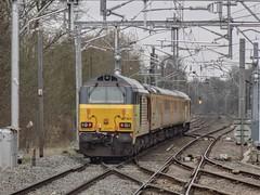 Skipping Through Barnt Green (Jason_Hood) Tags: 67023 class67 barntgreenstation