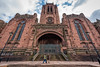 Liverpool Cathedral, Liverpool, UK (KSAG Photography) Tags: church cathedral religion christianity architecture history heritage sandstone red liverpool merseyside uk unitedkingdom europe britain wideangle hdr city urban landscape cityscape tower street streetphotography nikon april 2018 easter