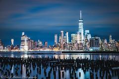 Newport Marina Night (ericjmalave) Tags: fuji jetty manhattan newyork nyc pier sunset twilight weehwaken