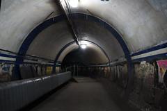 Around the Bend (steve_whitmarsh) Tags: london euston tunnel abandoned derelict station tube underground eustonstation subway