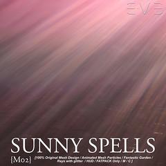 E.V.E Sunny Spells M02 (eve.studio (Noke Yuitza)) Tags: lights rays sunnyspells glitter fantasy