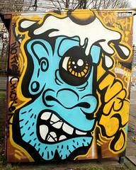 graffiti in haarlem (wojofoto) Tags: hetlandje graffiti streetart haarlem nederland netherland holland wojofoto wolfgangjosten nfc fobia phobia
