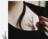 Little garden, little shadows. (sullen_snowflakes) Tags: fiori flowers me self capelli hair mano hand disegno paint