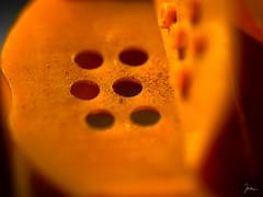 cinnamon shaker (j0ach1m) Tags: shaker cinnamon circles kreise löcher makro macro macromondays spice sonyalpha6000 sony fe 90mm f28 g oss bokeh focus