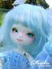 Ellyandrie_60 (zeroyo yasu) Tags: leeke sunny yosd bjd doll jardin étang bois cerf bleu selfie