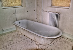 Bathe All Your Troubles Away... (Michelle O'Connell Photography) Tags: lostplaces asylum sanitorium mentalasylum mentalhospital mentalinstitute institution hospital derelict bath tub bathtub rusty decay glasgowphotographer michelleoconnellphotography
