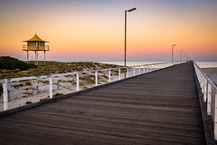 Semaphore Beach (BTAdelaide) Tags: beach beautiful photography landscape jetty seascape sunlight sunrise adelaide southaustralia australia light golden fujifilmxt2