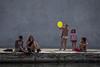 Spensieratazza (emilype) Tags: img41651 estate woman girl donne attimi urbanjungle urban people darsena yellow giallo