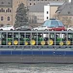 Autotransporter MS Fuerte bei Koblenz thumbnail