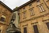 _DSC0361 (m.krema) Tags: roccabrivio lombardia italia it statua colore antico nuvoloso finestre
