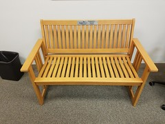 Neptune Society: Indianapolis, IN - Donates Bench to American Legion Post 470