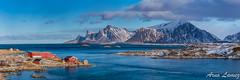 IMG_4546-Panorama.jpg (arnolamez) Tags: lofoten panorama panoramique panoramic seascape landscape mer norvege norway paysage