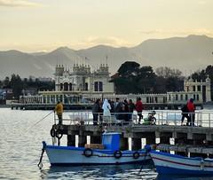 Mondello (gi. ci.) Tags: mare porto italy sicily sea barche boats charlestone palermo mondello