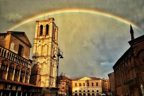 #ferrara #arcobaleno
