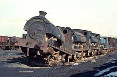 I1005 NCB Ladysmith Coal Preparation Plant 'dumped ' locos (Ernies Railway Archive) Tags: ncb whitehavenindustrialrailways ladysmithcolliery