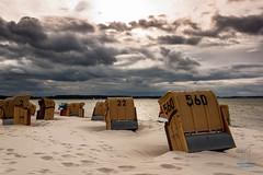 Drama pur (junghahn24) Tags: balticsea beach canon canoneos500d clouds heaven himmel kiel kielerwoche kielerwoche2014 meer ostsee strand strandkorb strandkörbe teamcanon wolken beachchair laboe schleswigholstein deutschland de