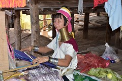 Деревня племени Карены (Oleg Nomad) Tags: таиланд чиангмай карены деревня длинношеие люди портрет племя thailand chiangmai karen longnecked people tribe