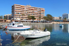 Relaxing time @ Mallorca (Fabrice H. - Photography) Tags: mallorca canpastilla yachthaven yachting yachts boats ocean blue clear appartment building holiday summer spain outview fantastic amazing balearics baleares espana