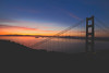Bay Area Sunrise (SPP - Photography) Tags: tamronsp70200mmf28divcusdg2 tamron costal batteryspencer pacificocean city cityscape canon canon6d sausalito california alcatraz coastline ocean sanfrancisco bridge eos6d 6d coast goldengatebridge costline pacificcoast ruggedcoast sunrise alcatrazisland