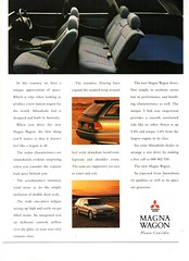 1992 TR Mitsubishi Magna SE Wagon Page 2 Aussie Original Magazine Advertisement (Darren Marlow) Tags: 1 2 9 19 92 1992 t r tr m mitsubishi magna w wagon c car collectible collectors classic a automobile j jap japan japanese 90s v vehicle