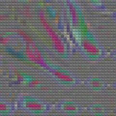 copper bells (fsaiwxbm12) Tags: lego bricks blocks art meso america indians tribes patterns weave mosiac codes mosaics