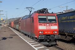 DB 185 130 Weil am Rhein (daveymills37886) Tags: db 185 130 weil am rhein baureihe cargo traxx
