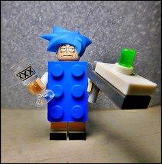 Brick Sanchez (LegoKlyph) Tags: lego custom brick block mini figure rick morty cartoon nerd scifi space aliens monsters tv show