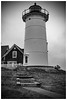 Nobska light (Silverio Photography) Tags: capecod lighthouse woodshole falmouth massachuetts newengland blackandwhite rain storm canon 60d 24mm pancake hdr topaz