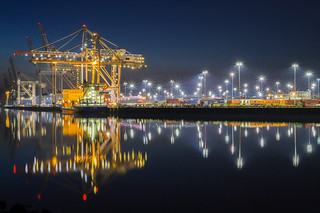 Southampton Container Port at Work