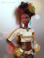 the golden girl (photos4dreams) Tags: barbie mattel doll toy diorama photos4dreams p4d photos4dreamz barbies girl play fashion fashionistas outfit kleider mode puppenstube tabletopphotography aa beauties beautiful girls women ladies damen weiblich female funky afroamerican afro schnitt hair haare afrolook darkskin africanamerican canoneos5dmark3
