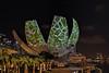 Evergreen (chooyutshing) Tags: videoprojections evergreen06 limelighthungary ilightmarinabay2018 facade artsciencemuseum marinabaysands marinabay singapore
