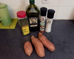 Food Photography - Sweet Potato Fries (Katherine Ridgley) Tags: toronto chef cook cooking kitchen food potato sweetpotato ingredients spice spices