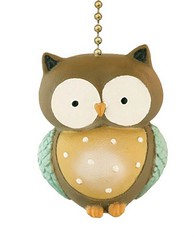Little Owl Ceiling Fan Pull Light Chain (mywowstuff) Tags: gifts gadgets cool family friends funny shopping men women kids home