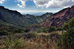Views Seen Hiking Back to the Chisos Basin
