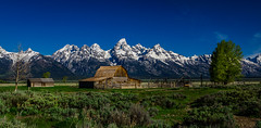 Moulton Barn (tuhindas1989) Tags: barn moultonbarn mormonrow landscape beautifullandscape grandteton nationalpark grandtetonnationalpark grandtetonnp wyoming travel travelphotography