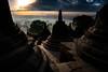 Borobudur At Dawn (El-Branden Brazil) Tags: indonesia temple java borobadur asia asian buddhist buddhism sacred mysterious holy mystical