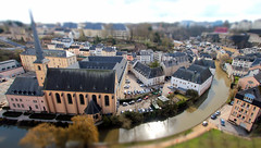 Luxembourg (Benn Gunn Baker) Tags: benn gunn baker canon 550d t2i bristol luxembourg tilt shift st jean du grund