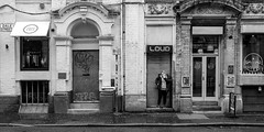 Northern Quarter, Manchester(35) (S.R.Murphy) Tags: fujixt2 jan2018 manchester northernquarter socialdocumentary street streetphotography monochrome bw bnw blackandwhite dalestreet england greatbritain britain unitedkingdom fujifilmxf23mmf2