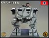 GM-JAGUER (Cooper Works 70) Tags: lego ww2 wwii mech mecha cooper works custom stickers battle alternative