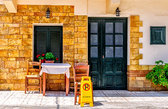 Almyrida, Crete (Kevin R Thornton) Tags: d90 nikon travel mediterranean greece crete architecture noparking almyrida almirida creteregion gr