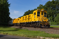 New Power on the Earle Railroad (sully7302) Tags: earle navy railroad 3gs14b genset middletown new jersey monmouth county colts neck military united states train transport transportation