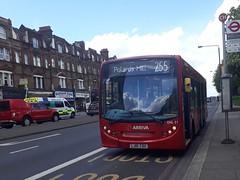Arriva London South ENL51 LJ10CSU | 255 to Pollards Hill (Unorm001) Tags: red london single deck decks decker deckers buses bus routes route diesel adl alexander dennis limited enviro 200 e200 enviro200 e20d e200dart dart 4 iv euro5 v euro 5 enl51 enl 51 255 lj10csu lj10 csu