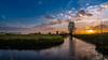 Another Dutch sunset (hboudeling) Tags: ettenleur noordbrabant netherlands nl zwartebergse molen etten leur windmill landscape sunset zonsondergang dutch nederland