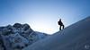 Ascension (MB*photo) Tags: lafouly montagne skirando valferret montagnes mountain alpes alps silhouette wwwifmbch leverdesoleil sunrise neige snow ascension romandie valais wallis