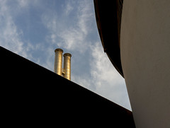 500 € (Ioannis Chrisakis) Tags: chrisakis city ceiling wall roof travelers sky athens architectural architect architecture greece clouds