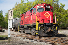 One Final Roster (ajketh) Tags: me tpw toledo peoria western morristown erie alco american locomotive company sold retired freight train shortline passenger railroad nj transit whippany new jersey 414 18 c424 railway