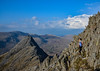 Lost in the rocks (Gwenael B) Tags: wales snowdonia alone freedom mountains rocks tryfan nationalpark landscape hiking scrambling girl adventures nikond5200 tamron16300mm sunny