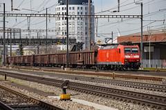 DB 185 134 Pratteln (daveymills37886) Tags: db 185 134 pratteln deutsche bahn cargo traxx