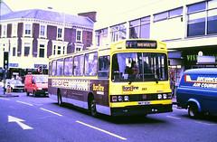Slide 115-84 (Steve Guess) Tags: maidstone kent england gb uk bus borough wadham stringer bedford mkp183m